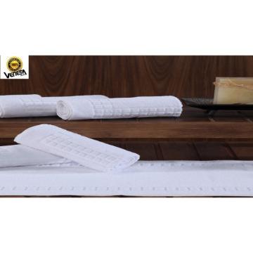 Toalha de Piso Topázio Venesa Branco 100% Algodão 50x80-cm 6 Unidades