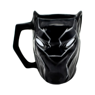 Caneca Formato 3D - Pantera Negra