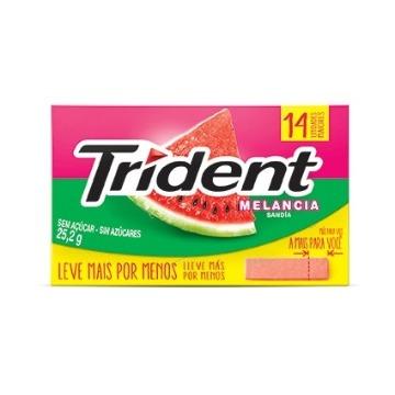 Trident Melancia 14unid.
