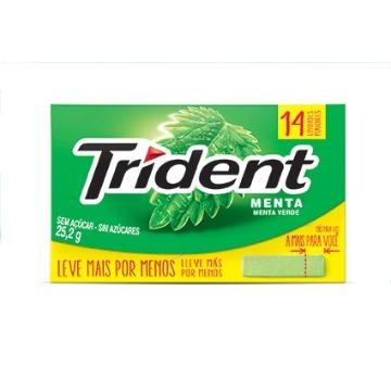 Trident Menta 14unid.