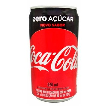 Refrigerante Coca-Cola Zero Sleek 220ML