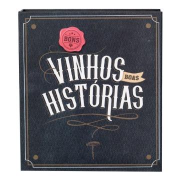 Kit Vinho Livro - Bons Vinhos