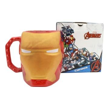 Caneca Formato 3D - Iron Man