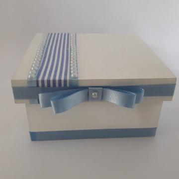 Caixa de Mdf Decorada 13x13