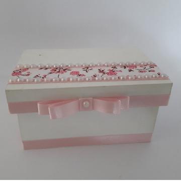Caixa decorada em mdf 9x13 cm