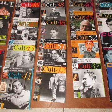 REVISTAS CULT - 48 unidades