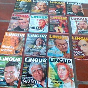 REVISTA LÍNGUA - 15 volumes