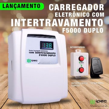 Fonte Carregadora duplo com Intertravamento – F5000