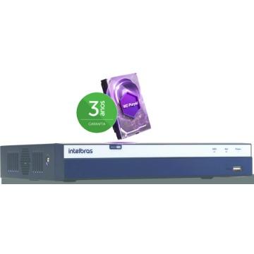 MHDX 3104 - 4 canais 4 Mega Pixel Com HD 2TB