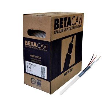 CABO COAXIAL HD 4205 COM 200m AZUL BETACAVI