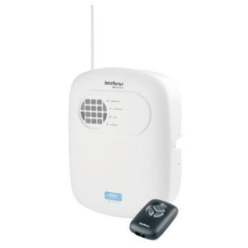 AMT 2008 RF - Central de alarme monitorada com 8 zonas (4 + 4 com fio 8 sem fio)