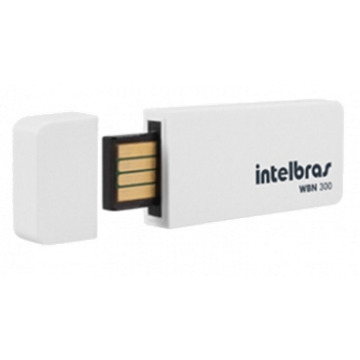 WBN 300 - Adaptador USB Wireless N 300 Mbps