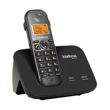 TS 5150 - Telefone sem fio digital com entrada para 2 linhas