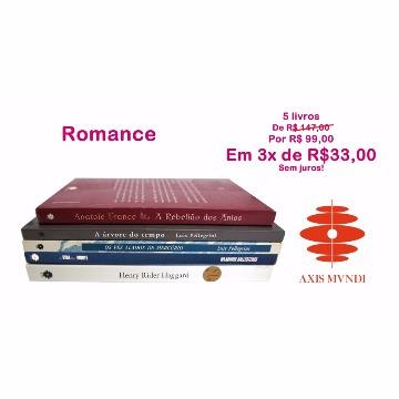 5 livros por 3 x R$33 - Romances