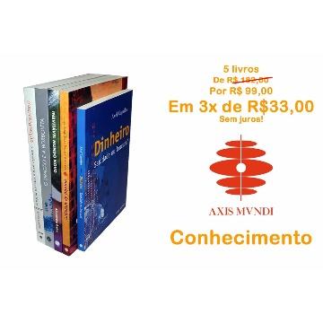 5 livros por 3 de R$33 - Conhecimento