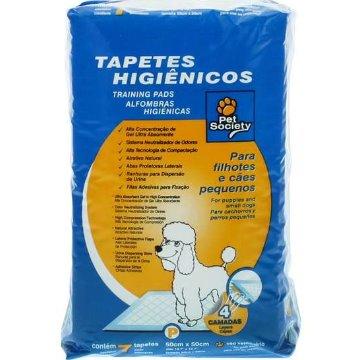 Tapete Higiênico Pet Society 50cm x 50cm C/7 un.