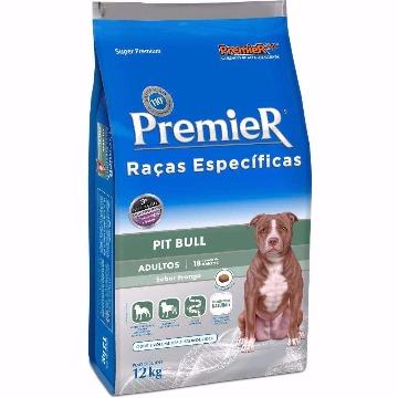 Ração Premier Super Premium Raças Específicas Adultos Pit Bull Frango 12kg
