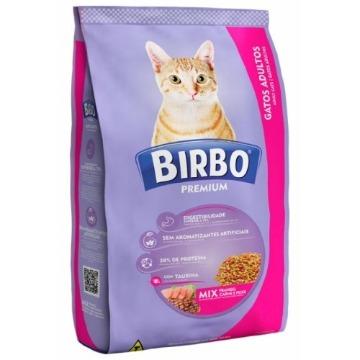 Ração Birbo Premium Gatos Adultos Sabor Mix 10,1kg