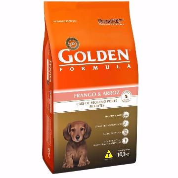 Ração Golden Formula Filhotes Raças Pequenas Frango e Arroz 10,1kg