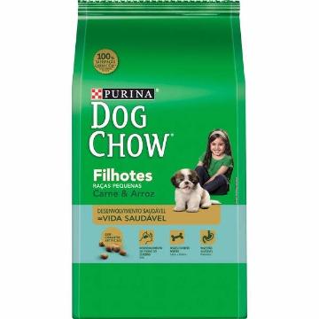 Ração DogChow Filhotes Raças Pequenas Carne e Arroz 15kg
