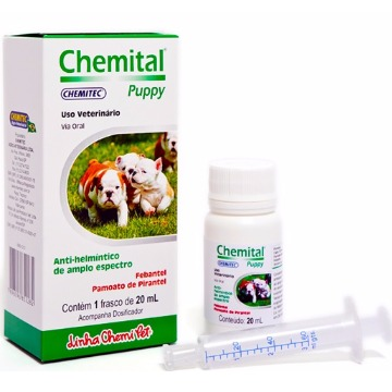 Vermifugo Chemital Puppy 20ml