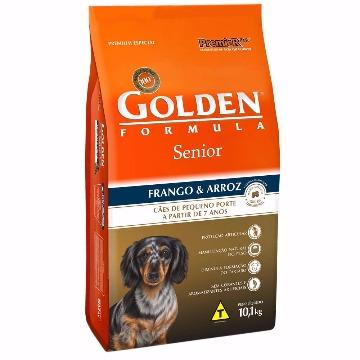 Ração Golden Formula Sênior Raças Pequenas Frango e Arroz 10,1kg