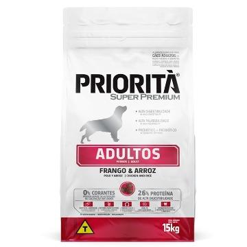 Ração Priorita Super Premium Adulto Raças Medias 15kg