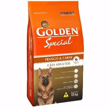 Ração Golden Special Adultos Raças Médias Frango e Carne 15kg