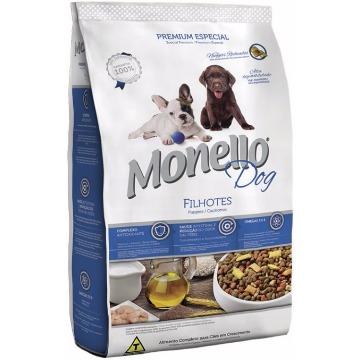 Ração Monello Premium Esp. Filhotes Raças Pequenas e Médias 1kg