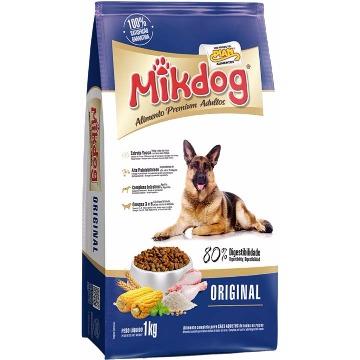 Ração Mikdog Premium Original Adultos Raças Médias 20kg