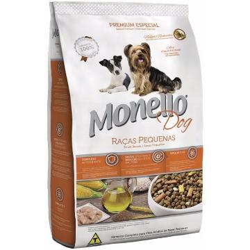 Ração Monello Premium Esp. Adultos Raças Pequenas 1kg