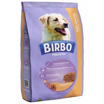 Ração Birbo Premium Tradicional Adultos Raças Médias 25kg