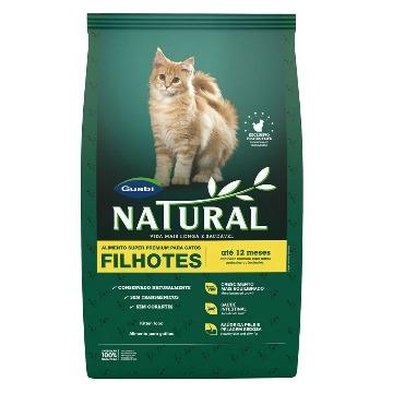 Ração Natural Super Premium Gatos Filhotes 1,5kg