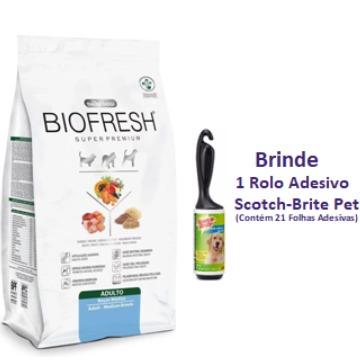 Ração Biofresh Super Premium Adultos Raças Médias 12kg