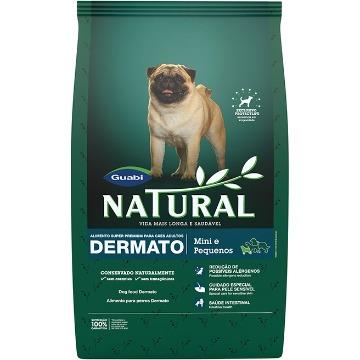 Ração Natural Super Premium Dermato Adultos Raças Pequenas e Mini 1kg