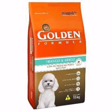 Ração Golden Formula Adultos Raças Pequenas Frango e Arroz 15kg