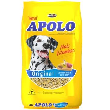Ração Apolo Original Adultos Raças Médias e Grandes Carne e Cereais 10,1kg
