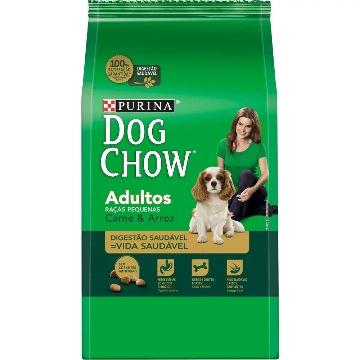 Ração DogChow Adulto Raças Pequenas Carne e Arroz 15kg