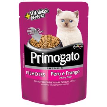 Primogato Sache Filhotes Peru e Frango 85gr.