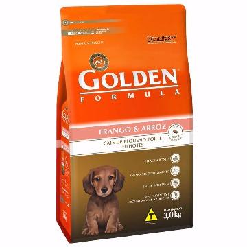 Ração Golden Formula Filhotes Raças Pequenas Frango e Arroz 3kg
