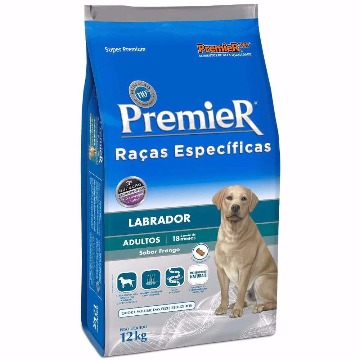 Ração Premier Super Premium Raças Específicas Adultos Labrador Frango 12kg