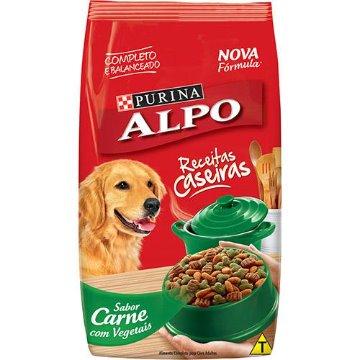 Ração Alpo Receitas Caseiras Cães Adultos Carne e Vegetais 18kg
