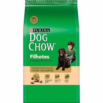 Ração DogChow Filhotes Raças Médias Frango e Arroz 15kg