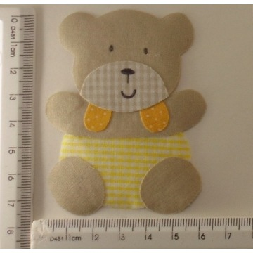 URSO ( PATCH APLIQUE COM TERMOCOLANTE )