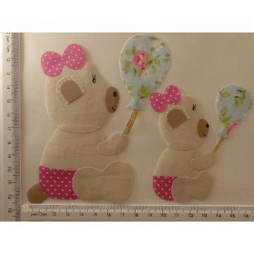 Urso (patch aplique com termocolante)