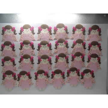 kit lembrancinha de anjinhas com 24 pçs ( ja vai com termocolante )