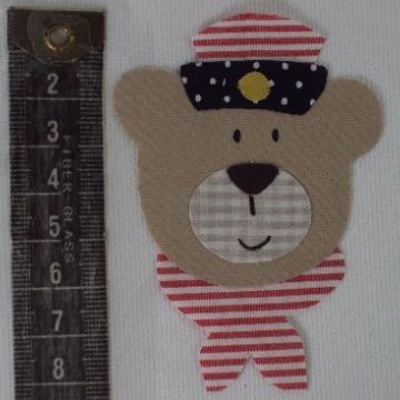 urso com gravata de marinheiro