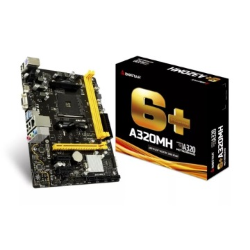 Placa Mae AMD AM4 A320MH DDR4 HDMI/VGA Biostar