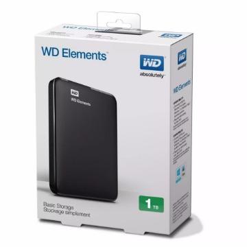 HD EXTERNO WESTERN DIGITAL 1TB PRETO