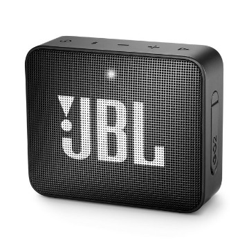 CAIXA BT JBL GO2 BLACK IPX7